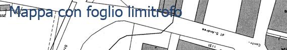 Mappa con foglio limitrofo